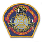 Fire Company Patch Volunteer Patch
